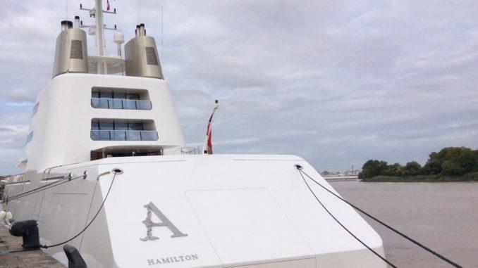 Le Yacht le A