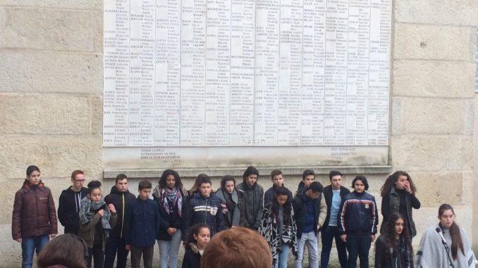 commémoration de la journée de la mémoire des génocides
